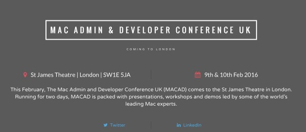 Mad Admin & Developers Conference UK