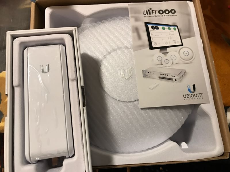 Ubiquiti CloudKey and UAC Pro