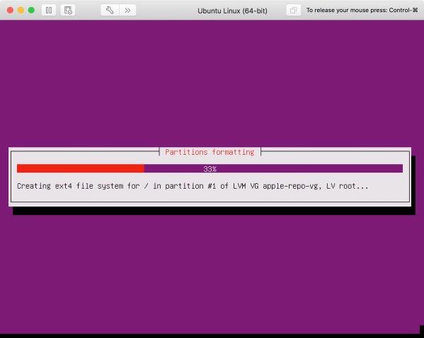 Ubuntu 12 Actually Doing Stuff