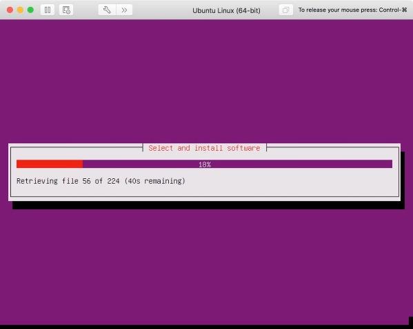 Ubuntu 15 More Installing