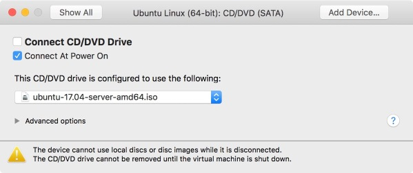 Installing Ubuntu 17 10 on ESXi, from a Mac Client, to the